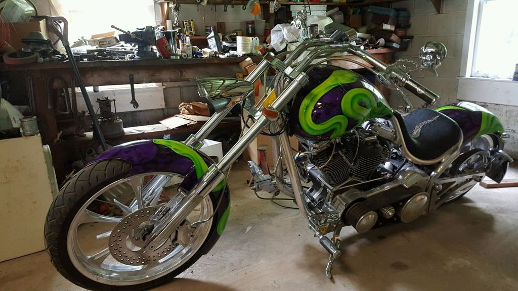 2004 Custom Motorcycle Chopper Ultima 88ci - 15816543 - 1
