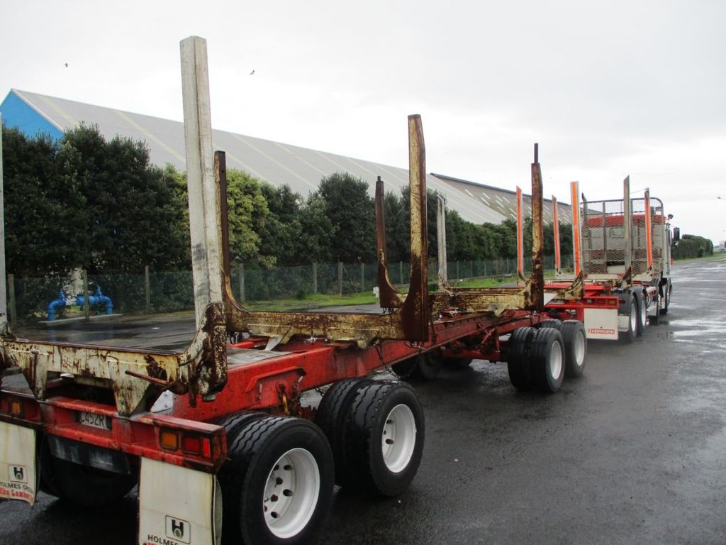 2004 Evans Log Trailer 4AS 4A4B - 18339990 - 0