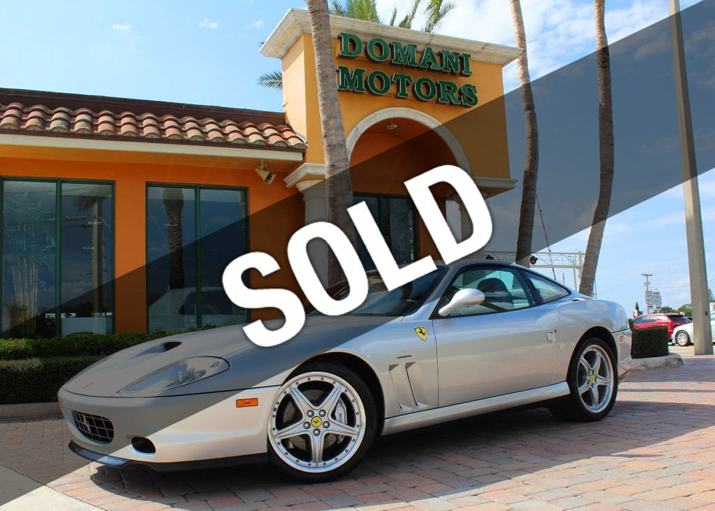 2004 Ferrari 575M Maranello 2004 Ferrari 575M Maranello with only 14,931 miles! V12 engine! Coupe - ZFFBV55A840134688 - 0