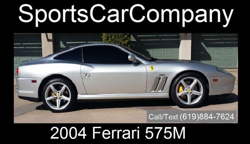 2004 Ferrari 575M Maranello 2dr Coupe - 17331691 - 2