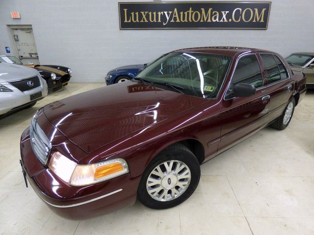 2004 Used Ford Crown Victoria 4dr Sedan LX at Luxury AutoMax Serving