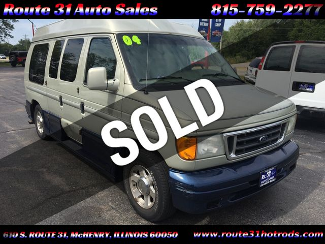 2004 Ford Econoline Cargo Van E-150 Recreational