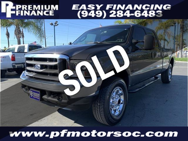 Ford F250 Super Duty For Sale >> 2004 Ford F250 Super Duty Crew Cab Xlt 4x4 Long Bed Turbo Diesel Super Clean Truck Not Specified Not Specified For Sale Stanton Ca 10 950
