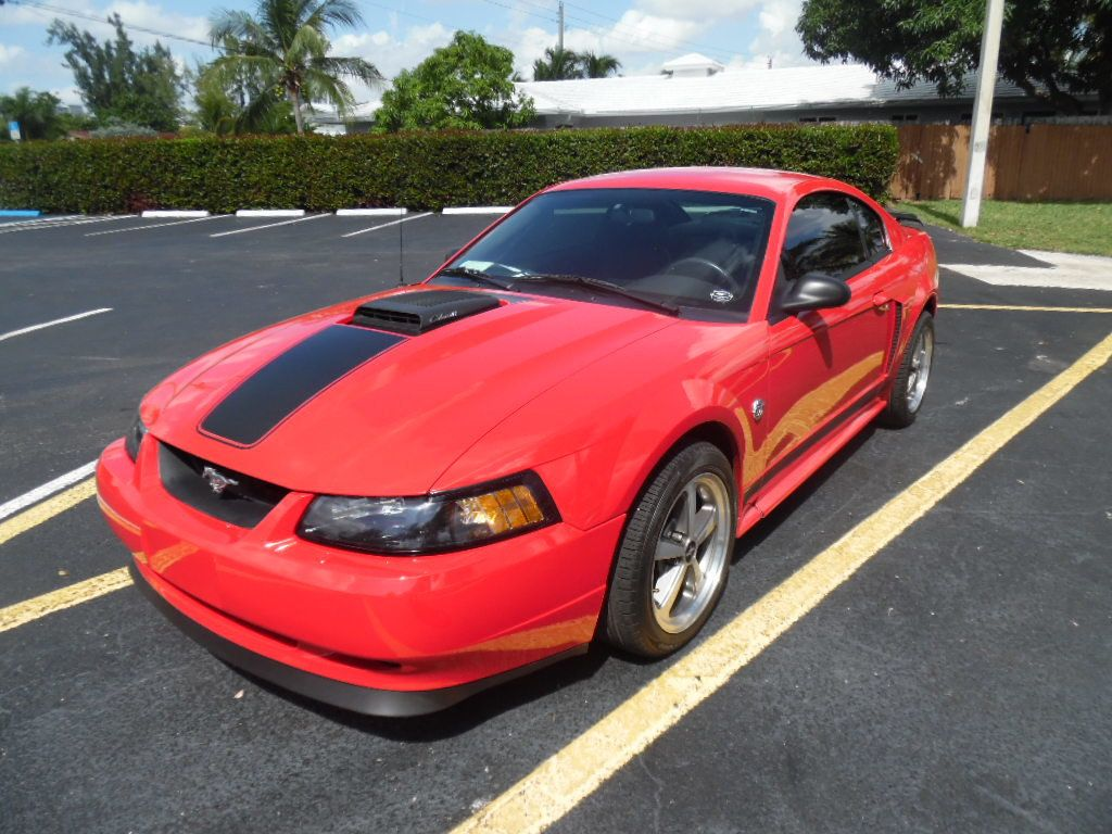 2004 Ford Mustang 2dr Coupe Premium Mach 1 - 17809131 - 4