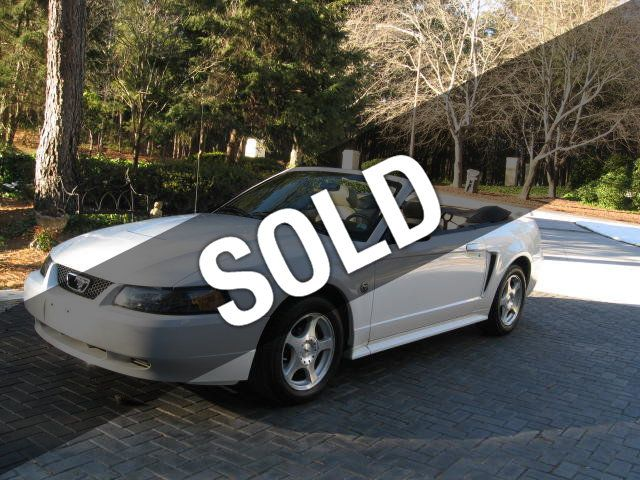 2004 used ford mustang convertible 40th year anniversary for sale at webe autos serving long. Black Bedroom Furniture Sets. Home Design Ideas