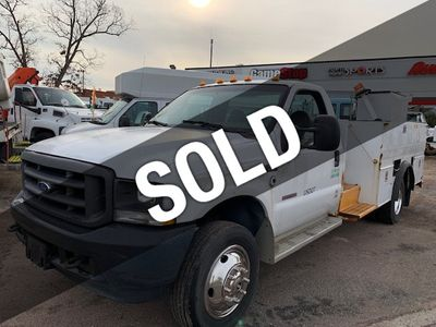 2004 Ford SUPER DUTY  F-550 13 FOOT