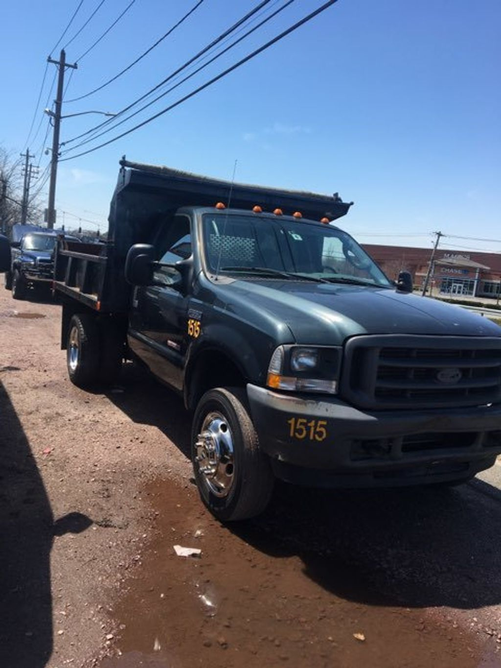 2004 Ford Super Duty F-550 9 FOOT MASON DUMP  with PTO F550 9 FOOT MASON DUMP 5 SPEED WITH PTO CONTROLLER - 14872380 - 3