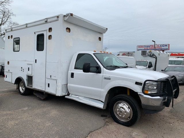 2004 Ford SUPER DUTY F-550 ENCLOSED UTILITY SERVICE TRUCK RARE FIND 4 WHEEL DRIVE - 18187174 - 1
