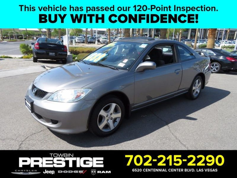 2004 honda civic 2dr coupe ex automatic coupe for sale las vegas nv. Black Bedroom Furniture Sets. Home Design Ideas