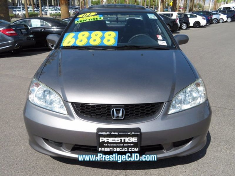 2004 Honda Civic 2dr Coupe EX Automatic - 16778810 - 1