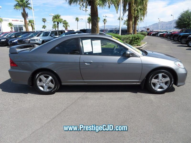 2004 Honda Civic 2dr Coupe EX Automatic - 16778810 - 3