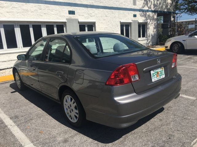 2004 Honda Civic 4dr Sedan LX Manual Sedan   2HGES15554H522085   2