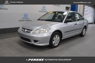 2004 Honda Civic 4dr Sedan VP Automatic