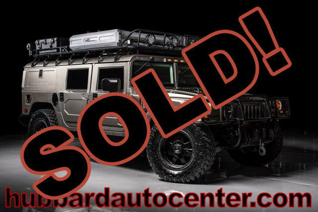 2004 HUMMER H1 Fully Custom Hummer H1 Wagon