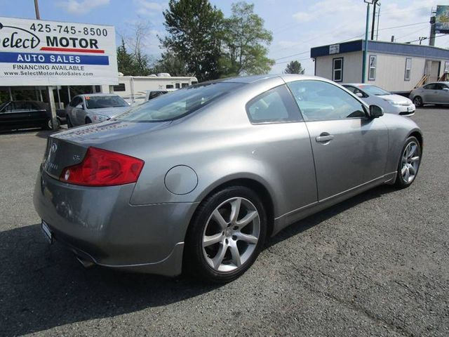 2004 Used Infiniti G35 Coupe Base Rwd 2dr Coupe At Select Motors