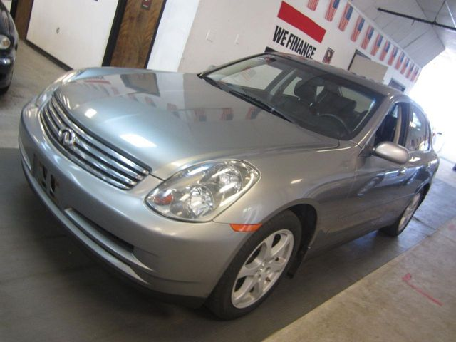 2004 Used Infiniti G35 Sedan Awd G35x Auto Leather At Contact