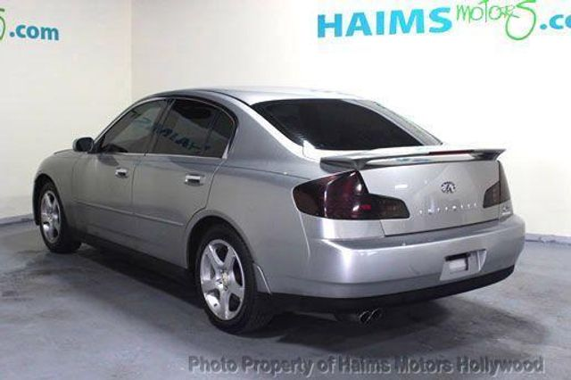 2004 Used Infiniti G35 Sedan Sedan At Haims Motors Serving Fort