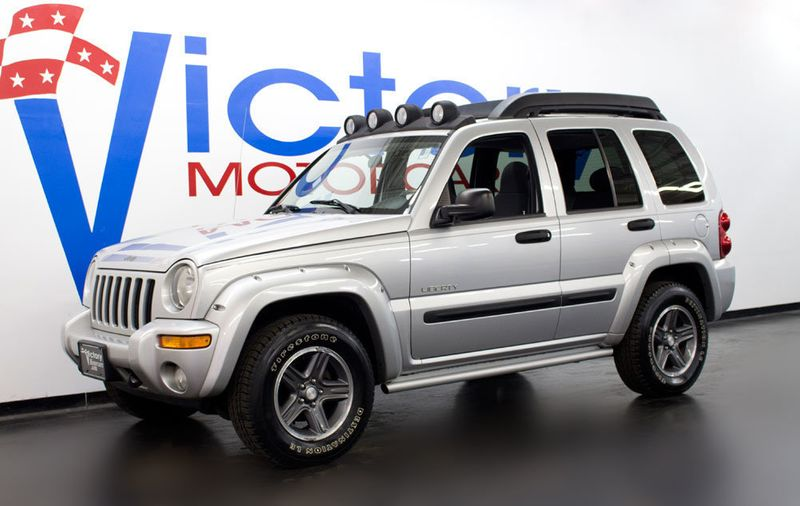 2004 used jeep liberty 4x4 at victory motorcars serving houston, tx