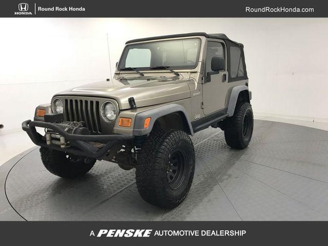 2004 Jeep Wrangler 2dr Sport   18176075   0