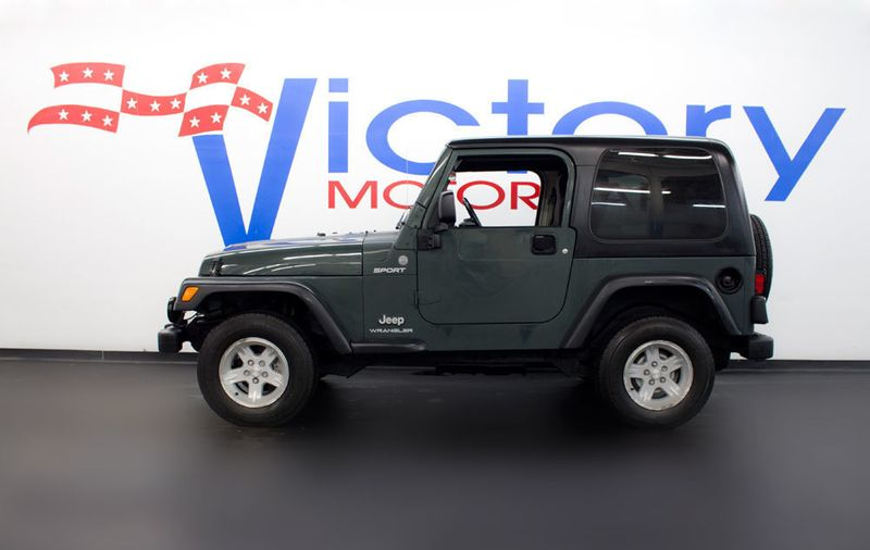 Used Jeep Wrangler Sport >> 2004 Used Jeep Wrangler Sport 4x4 At Victory Motorcars Serving Houston Tx Iid 17345958