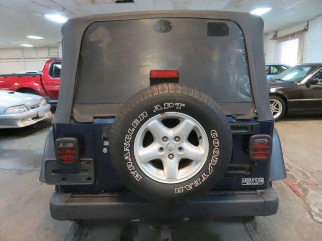 Delightful 2004 Jeep Wrangler * X * / 4X4 / A/C SUV   1J4FA39S74P787307