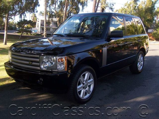2004 used land rover range rover hse at cardiff classics serving encinitas iid 5515353. Black Bedroom Furniture Sets. Home Design Ideas