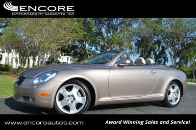 2004 Lexus Sc 430 2dr Convertible W Navigation Click To See Full Size