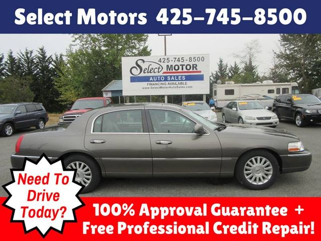 2004 Lincoln Town Car 4dr Sedan Signature Sedan for Sale Lynnwood, WA -  $4,988 - Motorcar com