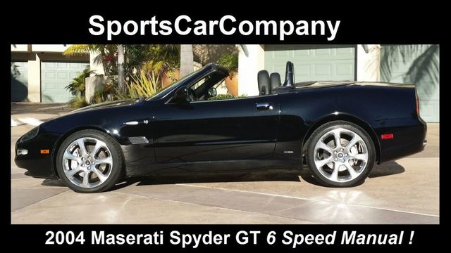 2004 Maserati Spyder 2dr Convertible GT - 14379575 - 0