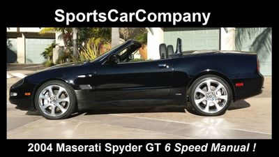 2004 Maserati Spyder 2dr Convertible GT - Click to see full-size photo viewer