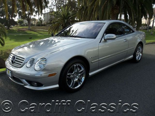 2004 used mercedes benz cl class coupe at cardiff classics for Used mercedes benz coupe