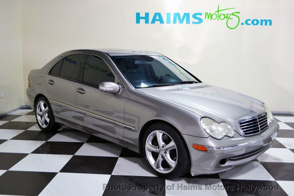 2004 used mercedes benz c class c230 at haims motors serving fort lauderdale hollywood miami. Black Bedroom Furniture Sets. Home Design Ideas