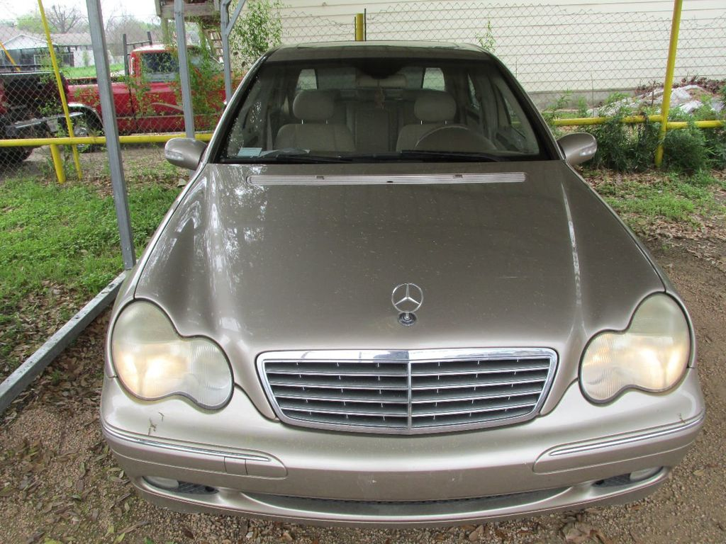 2004 used mercedes benz c class c240 4dr sedan 2 6l at for Mercedes benz motor werks