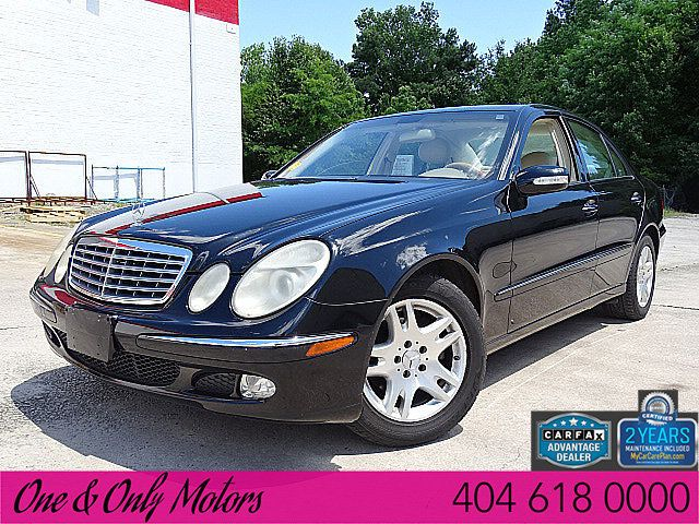 2004 Used Mercedes-Benz E-Class E320 4dr Sedan 3 2L at One and Only Motors  Serving Doraville, GA, IID 18901691