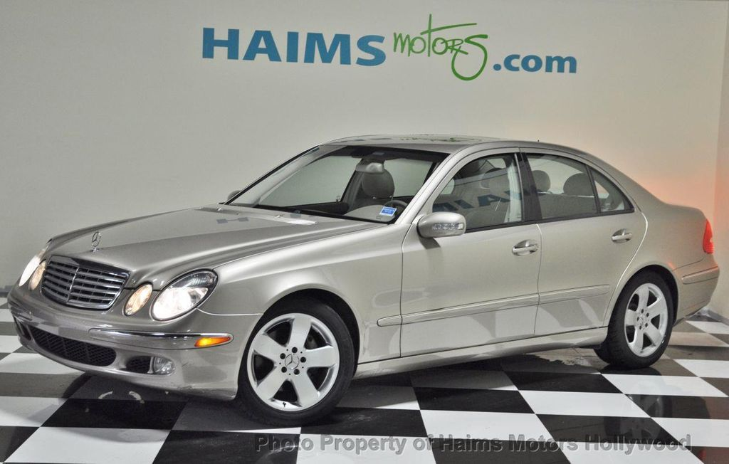 2004 used mercedes benz e class e500 4dr sedan 5 0l at haims motors serving fort lauderdale. Black Bedroom Furniture Sets. Home Design Ideas