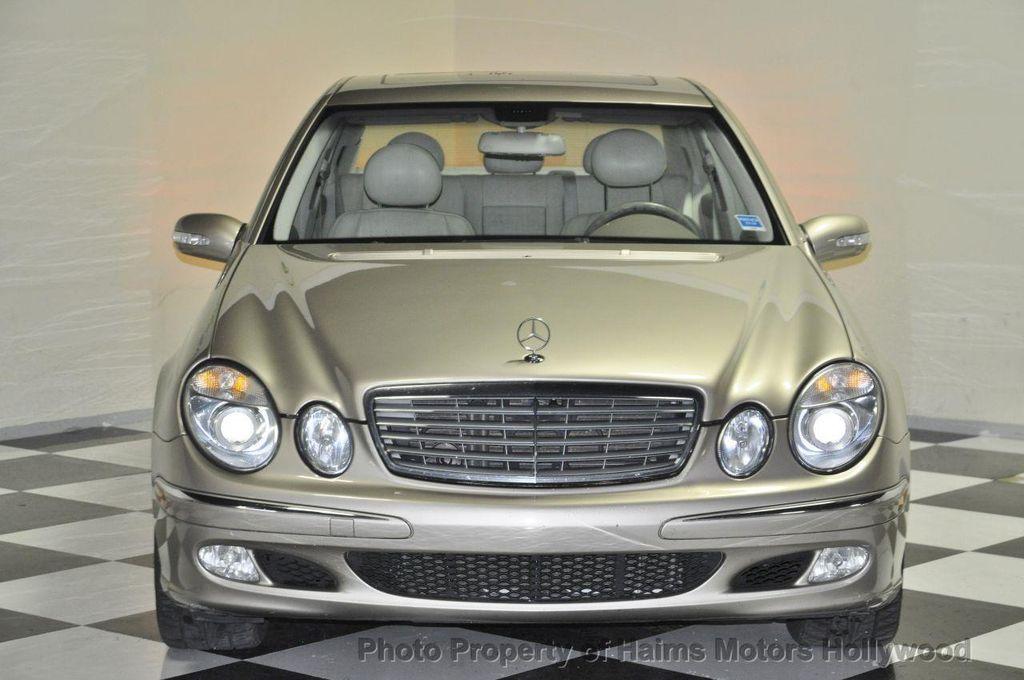 2004 Mercedes Benz E Class E500 4dr Sedan 5.0L   12921086   1