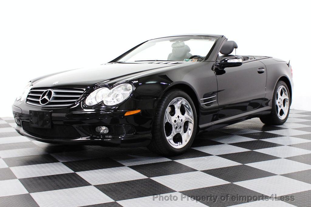 2004 used mercedes benz sl class sl500 2dr roadster 5 0l for Used mercedes benz sl