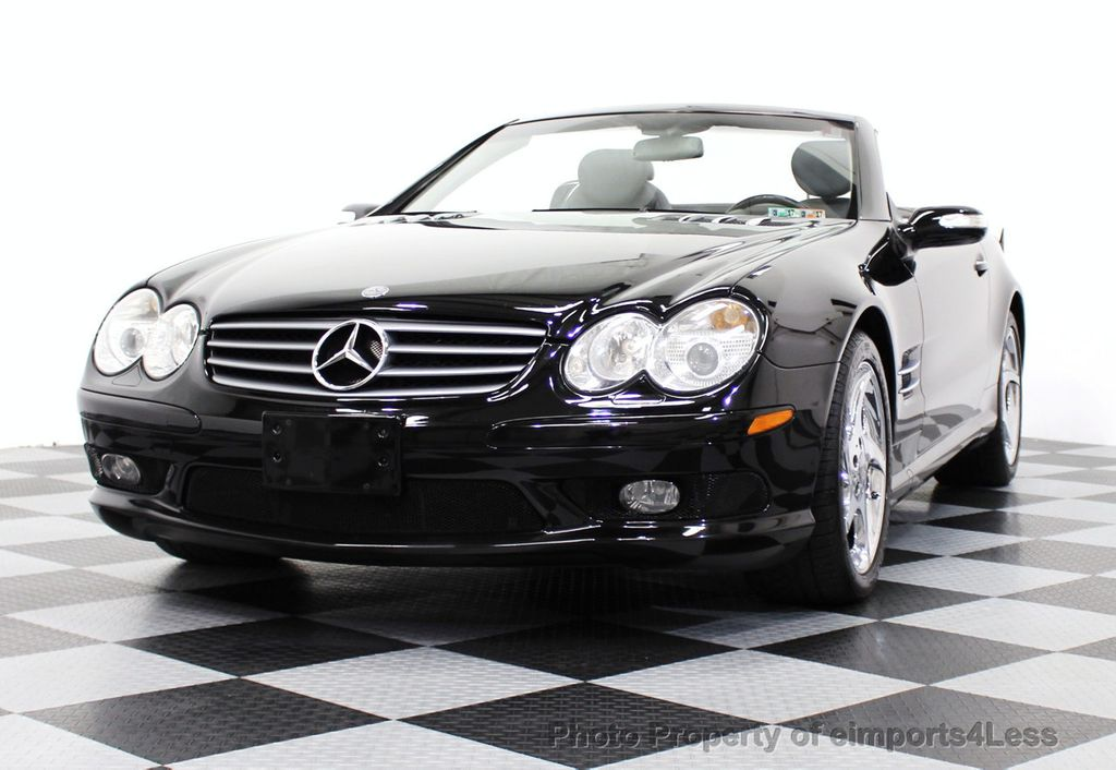 2004 used mercedes benz sl class sl500 2dr roadster 5 0l for Mercedes benz sl class sl500