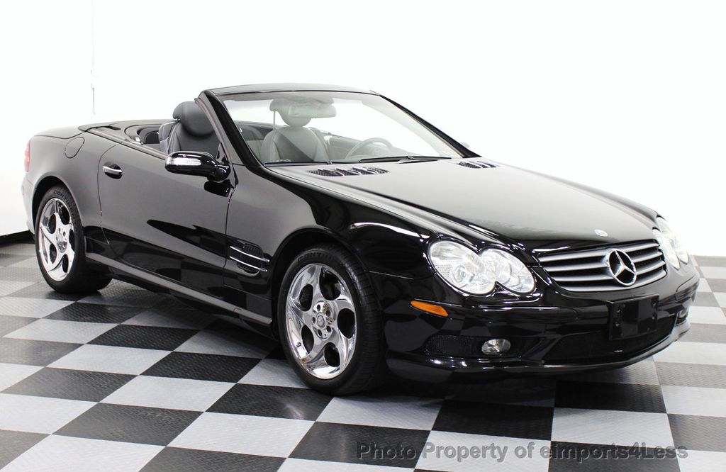 2004 used mercedes benz sl class sl500 2dr roadster 5 0l for Used mercedes benz sl500