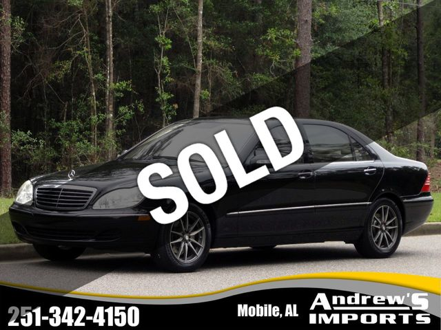 2004 Mercedes-Benz S-Class S430 4dr Sedan 4.3L