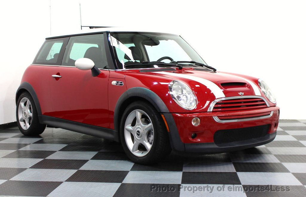2004 used mini cooper hardtop certified mini cooper s 6. Black Bedroom Furniture Sets. Home Design Ideas