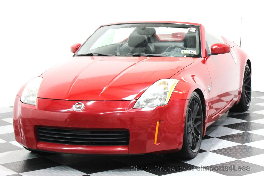 2004 Used Nissan 350z Nissan 350z Convertible At Eimports4less