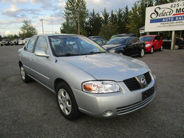 2004 Nissan Sentra 4dr Sedan 1.8 S Automatic SULEV Sedan    3N1CB51D34L848746   1