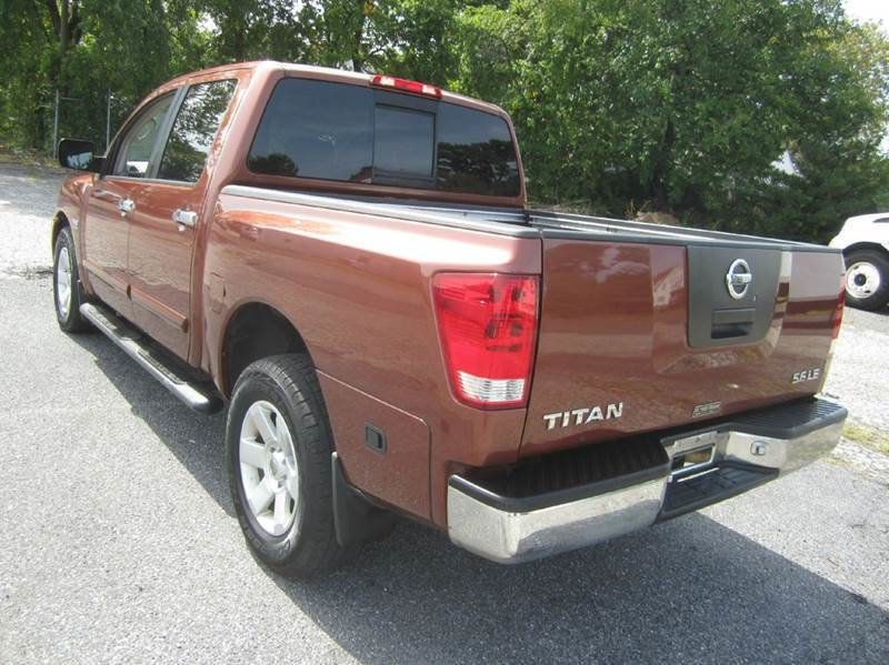 2004 Used Nissan Titan 4x4 Le Crew Cab At Contact Us Serving