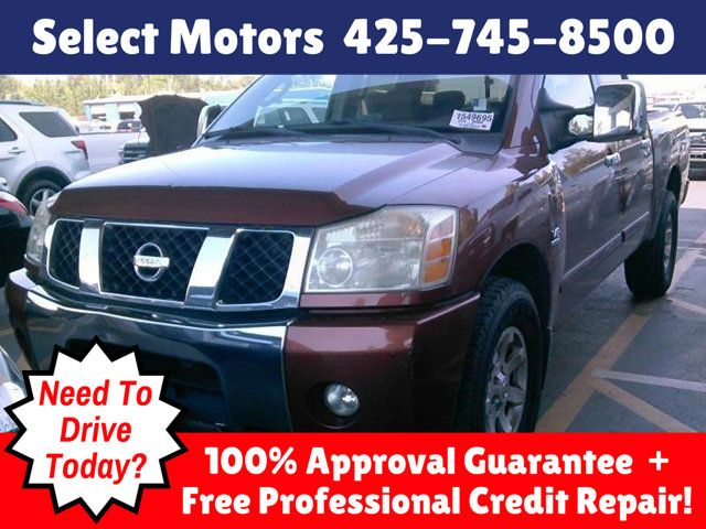 2004 Nissan Titan SE Crew Cab 4WD Truck Crew Cab Short Bed for Sale  Lynnwood, WA - $13,988 - Motorcar com