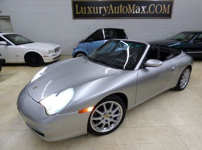 2004 Porsche 911 2dr Cabriolet Carrera 6-Speed Manual Convertible