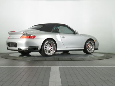 2004 Porsche 911 2dr Cabriolet Turbo 6-Speed Manual - Click to see full-size photo viewer