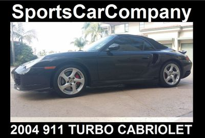 2004 Porsche 911 TURBO CABRIOLET Turbo Cabriolet - Click to see full-size photo viewer