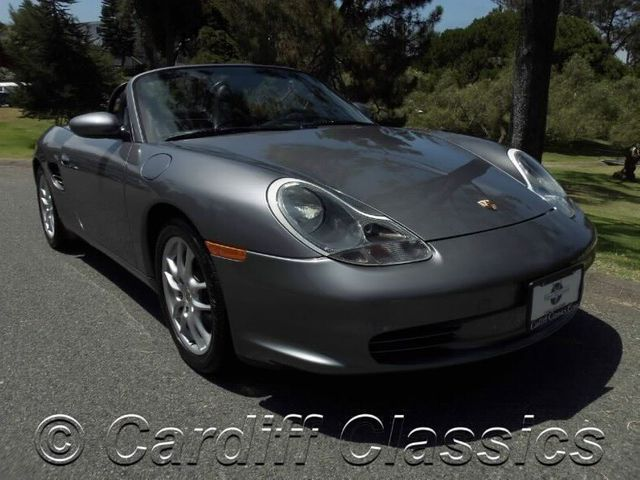 2004 Used Porsche Boxster 2dr Roadster Tiptronic At