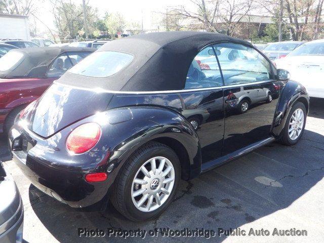 2004 Used Volkswagen New Beetle Convertible At Woodbridge Public Auto Auction Va Iid 16253786